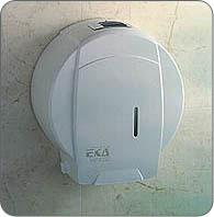 Дозатор ( диспенсър )  за тоалетна хартия ЕКА-Бял От Хартия.нет