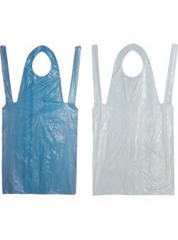 Предпазна престилка еднократна от полиетилен(304504)