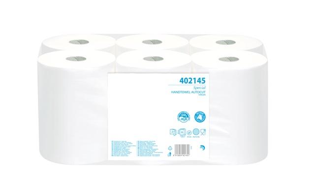 Хартиена ролка за дозатори с режеща гилотина(402145)
